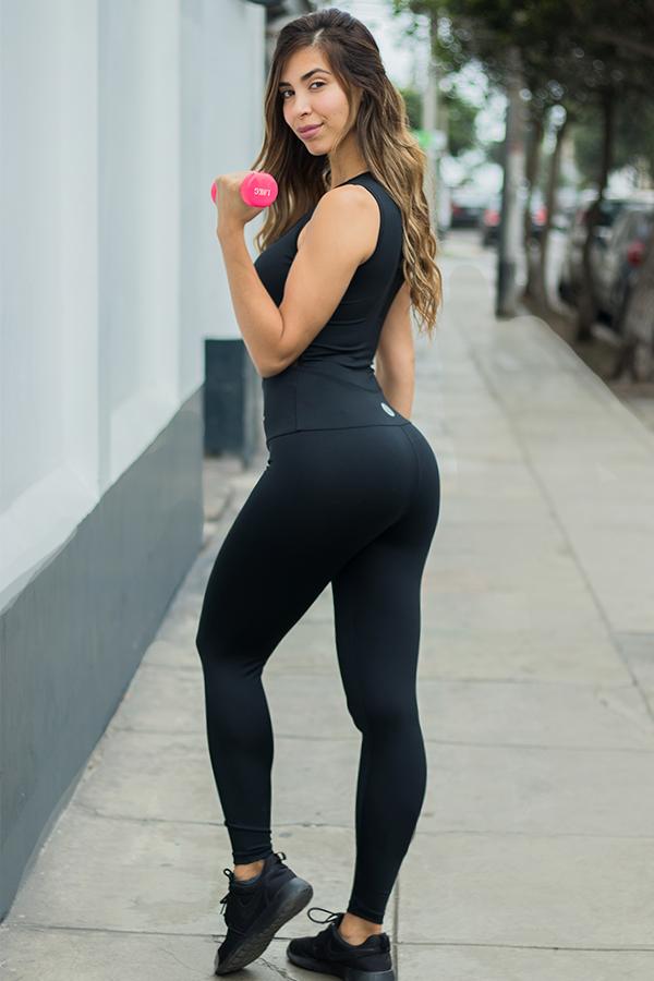 Ropa Deportiva Mujer, Quantum Sport Girl- enterizo zafiro